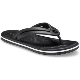 Crocs Crocband Flache Sandalen black